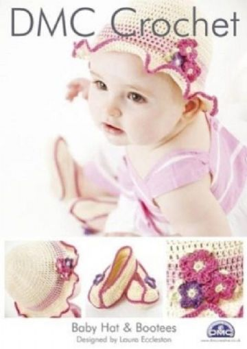 DMC Baby Hat and Bootees Crochet Pattern